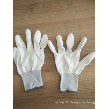 PU Finger Tip PU Coated Safety Work Gloves (PU011)