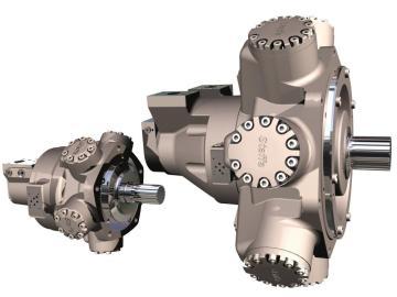 1.Kawasaki Hydraulic Motors HMB Series