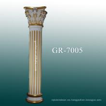 Pilar de la PU para el hogar y la decoración interior