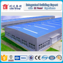 Entrepôt de structure en acier léger de nouvelle conception de 2016 par H Section Steel