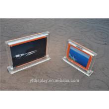 Kundenspezifischer Größen-bunter magnetischer Acrylfotorahmen