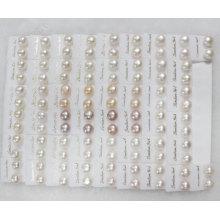 Pendientes de perlas de perlas de agua dulce (ER1437)