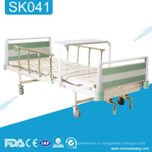 SK041 дешевые Ручная Больничная медицинская кровать с рукояткой