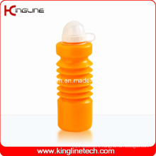 Plastic Sport Water Bottle, Plastic Sport Water Bottle, 600ml Plastic Drink Bottle (KL-6640)