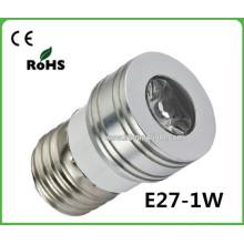 Best Selling 2015 Novos Produtos Projetor LED CRI> 80 Pequeno LED Spot Light E27 Led Spot Light