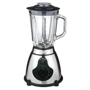 600W Stainless Steel Blender With Glass Jug