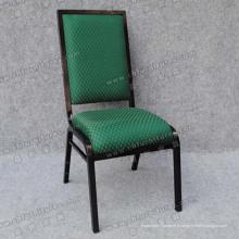 Chaises en tissu vert pour la fête (YC-ZL23-01)