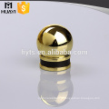 Gold color perfume bottle lid