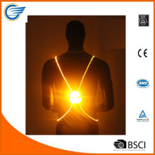 Reflective High Visibility LED Vest for Jogging