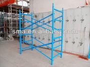 construction dip paint H frame scaffolding