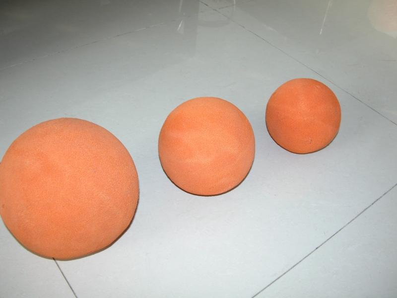 concrete rubber ball