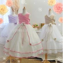 A-Line Vestido de vestidos de baile vestido por atacado Venda quente vestido personalizado para crianças FGZ37 Vestidos de menina de flor para meninas de 10 anos