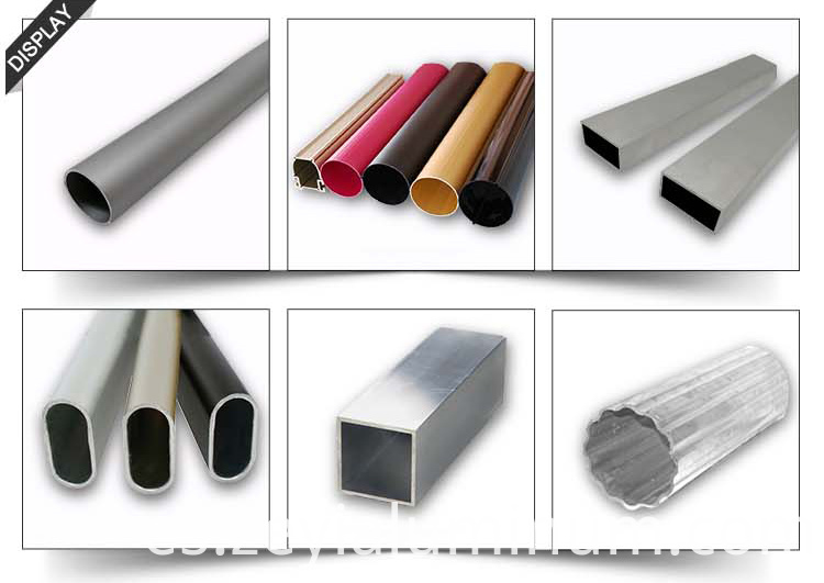 Aluminium Tube Colorful