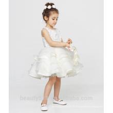 Robe de fille à fleurs de 9 ans robe à encolure à encolure sans manche filles en robe de nuit chaude ED784