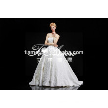1A165 Sleeveless Simple Wedding Dress Patterns Free Clothing Factories In China Wedding Dress