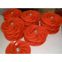 polyurethane impellr for slurry pump