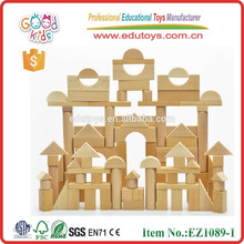 High quality 180pcs block wooden toys for kids