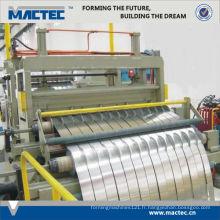 Nouveau type de haute qualité utilisé machine à refendre en acier inoxydable