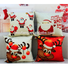 wholesale merry Christmas linen cushion covers