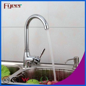 Fyeer Wholesale Cheap Ceramic Cartridge Kitchen Sink Mixer Faucet