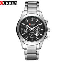 Stainless Steel Luxury Brand Business Watches Men