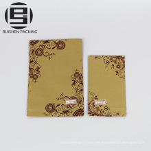 Bolsa de papel artesanal bolsas de pie