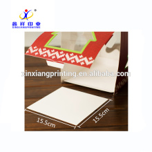 Customized Logo And Shape !Bulk Decorative Christmas Cake Gift Packaging Box with Handle
