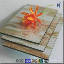 Panel compuesto plástico de aluminio para el revestimiento de la pared del edificio (XDM781)