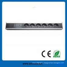 Germany Plug Socket 6-Way 16A PDU
