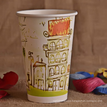 16oz Single Wall Paper Cup
