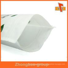 Empaquetado Resellable de la bolsa del diseño / del logotipo hecho del papel de arroz