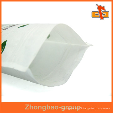 Resealable Custom Design/Logo Pouch Packaging Made Of Rice Paper