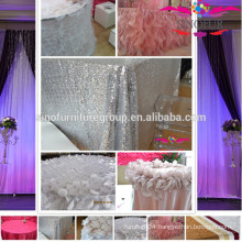 New design various wedding table cloth
