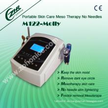M122-Molly Multifunktions-Faltenentfernung und Gesicht Schönheit Mesotherapie Keine Nadeln