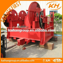 API crown block for oilfield drilling rig