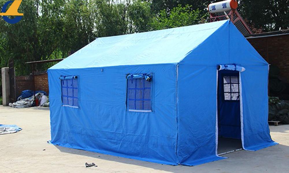 steel frame tent