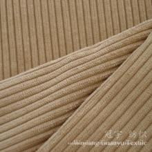 Tissu de velours coupé en polyester et nylon velours côtelé