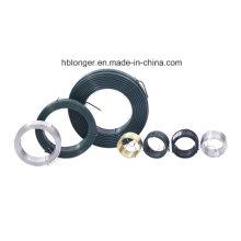 Fio galvanizado do ferro / fio do laço / fio obrigatório / fio pequeno da bobina