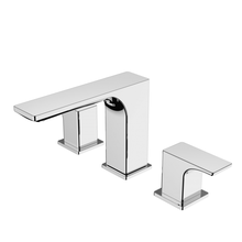 Robinets de mélangeur de lavabo de salle de bain à 2 poignées