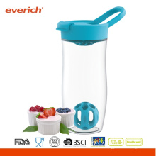24oz / 720ml BPA Free shaker shaker personnalisé bpa Free Shaker With Ball inside