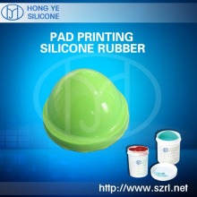 Pad print silicone for electronic toys