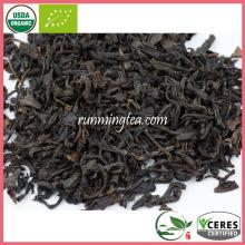 Smoky Aroma Wuyi Mountain Té Negro Orgánico