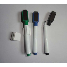 Top Sale Magnetic Whiteboard Marker Pen with Brush