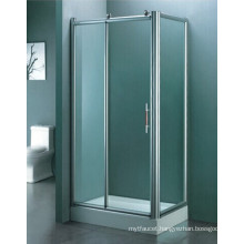 Bathroom Sanitary Ware Tempered Glass Simple Shower Room (H007)