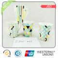 Promoção V forma cerâmica caneca Caneca de café personalizado com impressão