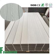 Plancher composé de Decking de Co-Extrusion de matériau de construction WPC pour décoratif