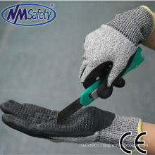 NMSAFETY New Products PVC dots cut resistant hand gloves