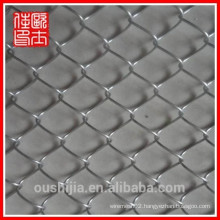 hot-dip and electro galvanized chain link fence