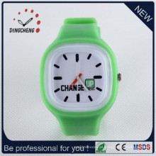 Reloj vendedor caliente promocional del silicón del regalo de la venta directa de la fábrica (DC-1320)