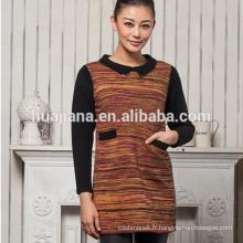 chandail de tricot de cachemire des femmes usine